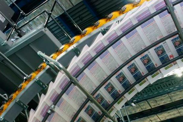 Газетная бумага в ролях